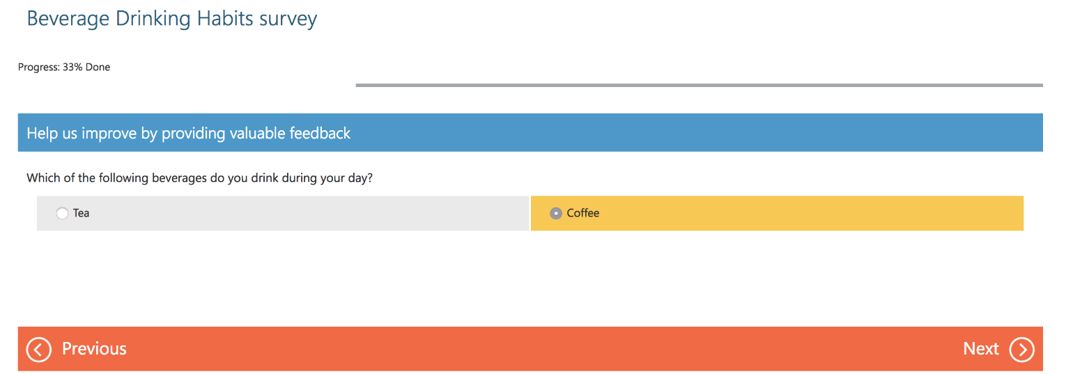 personalize surveys by dynamically adding customer responses into