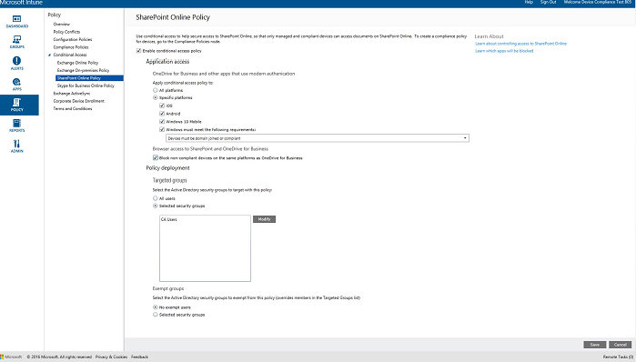 Sharepoint Online Configuration Manager