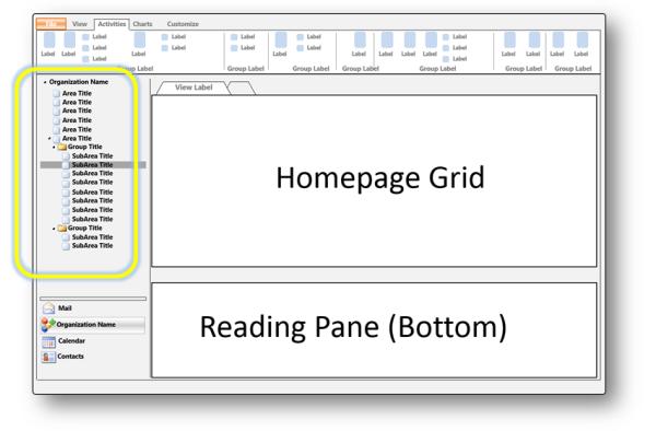 sitemapを使用した アプリケーション ナビゲーションの変更 dynamics