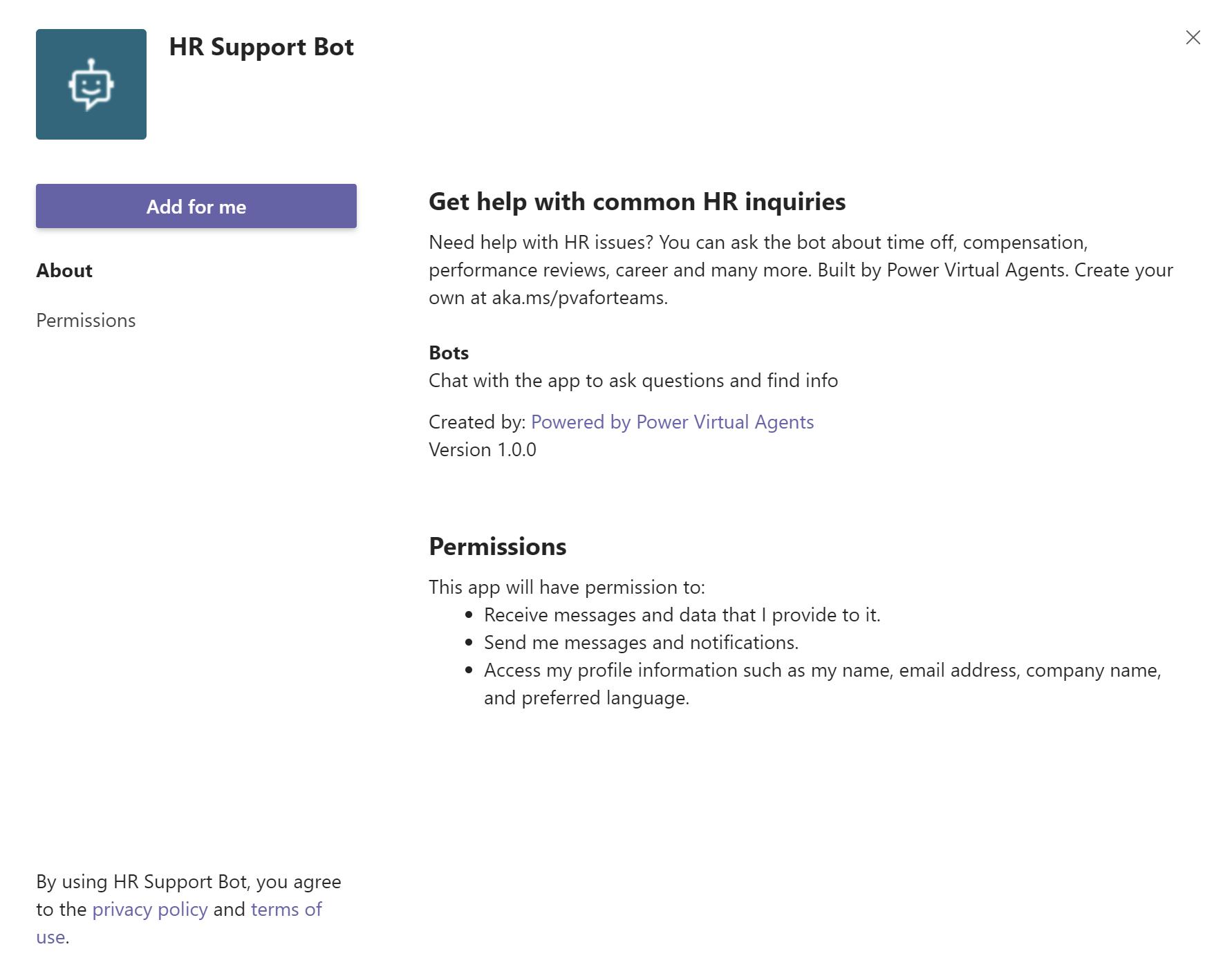 クイックスタート: Microsoft Teams でボットを作成して展開する ...