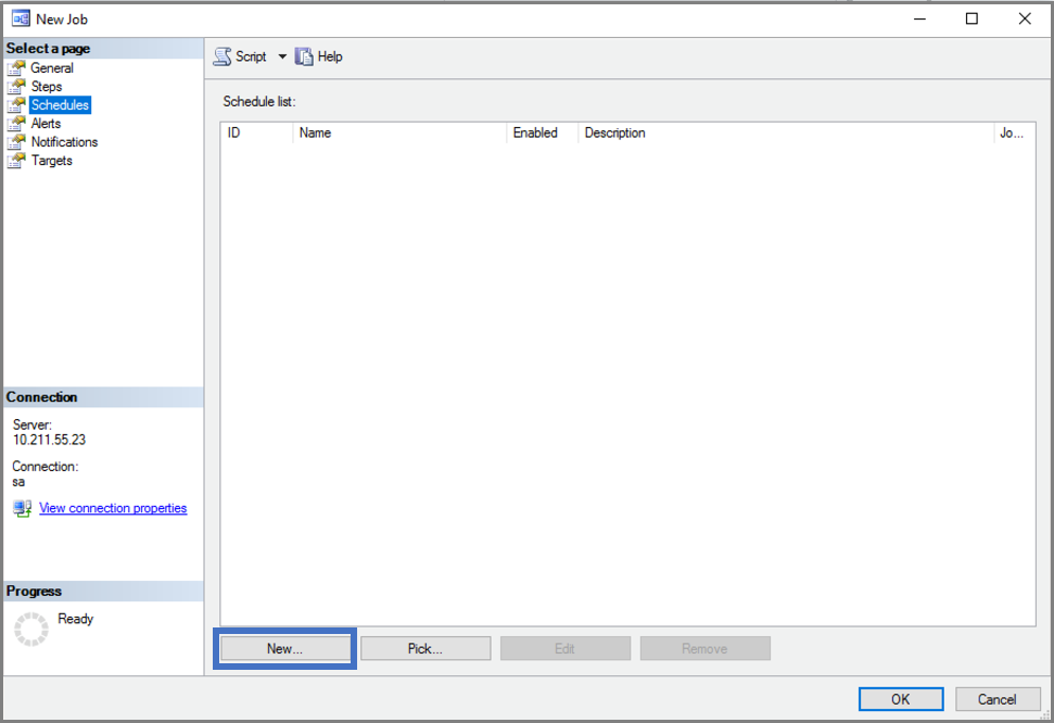 作成し、Linux での SQL Server のジョブを実行 | Microsoft Docs
