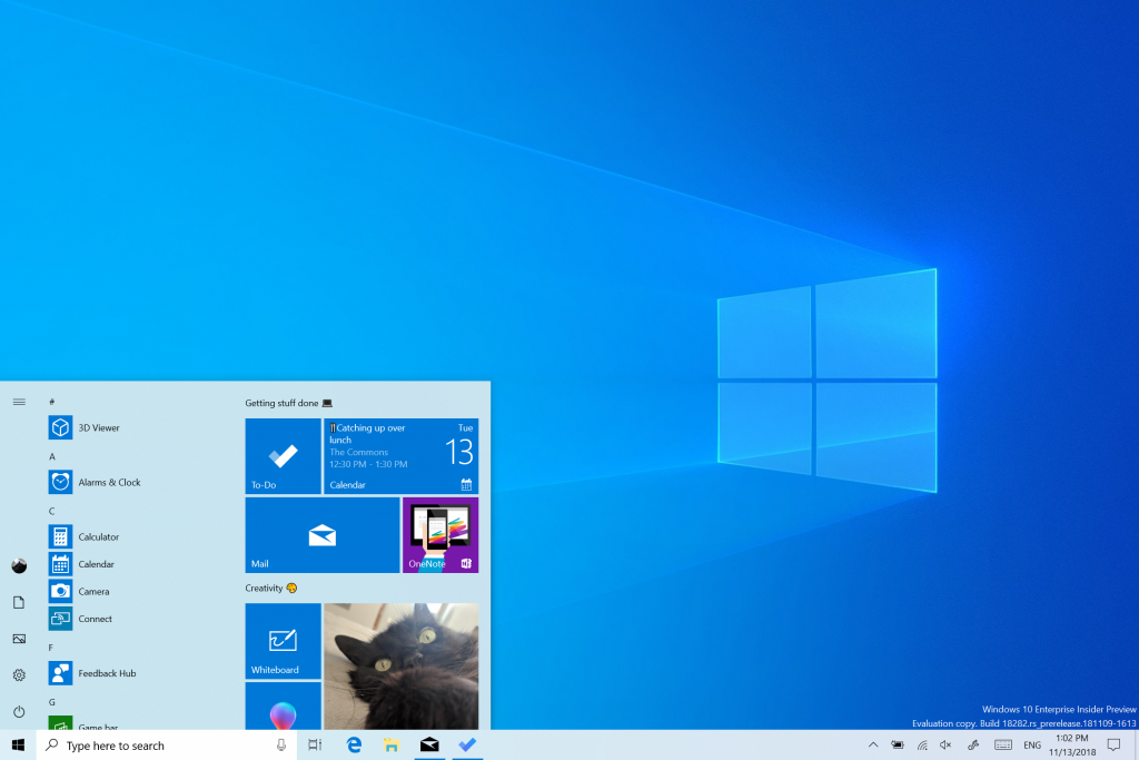新機能 windows 10 insider preview ビルド 19 h 1 microsoft docs