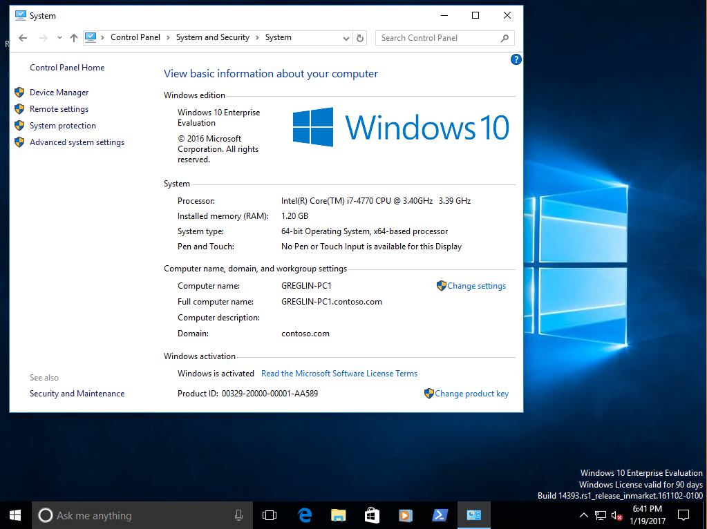 how to get to windows 10 computer configuration