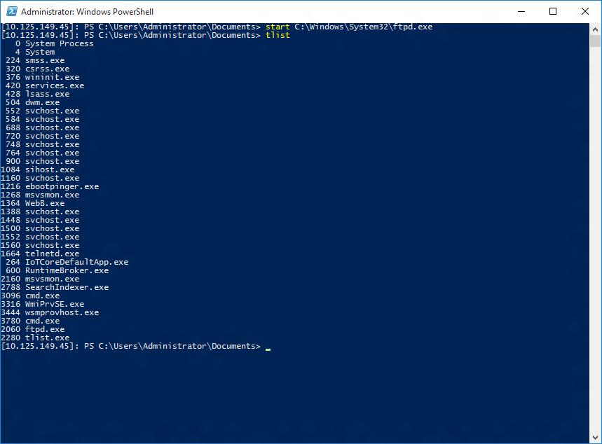 ファイル転送プロトコル - Windows IoT | Microsoft Docs