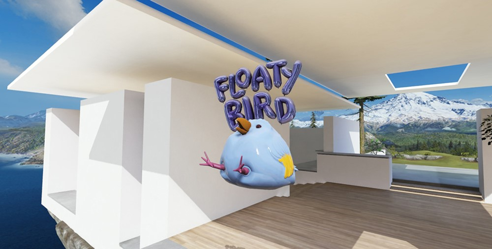 Example: Floaty Bird 3D app launcher