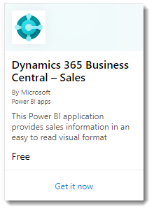 Dynamic 365 Business Central - 판매 웹앱