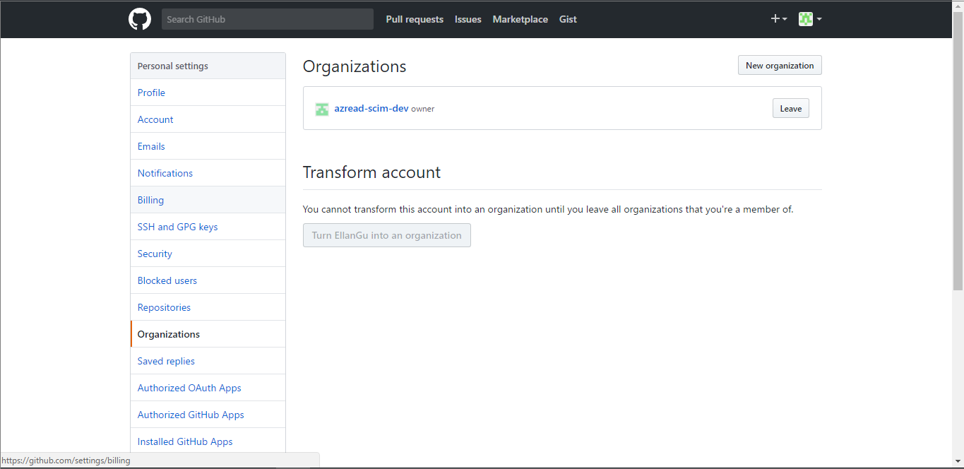 Tutorial: Configure GitHub for automatic user provisioning