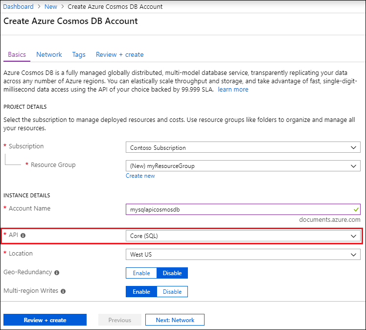 dbfdff7b Learn how to manage database accounts in Azure Cosmos DB | Microsoft ...