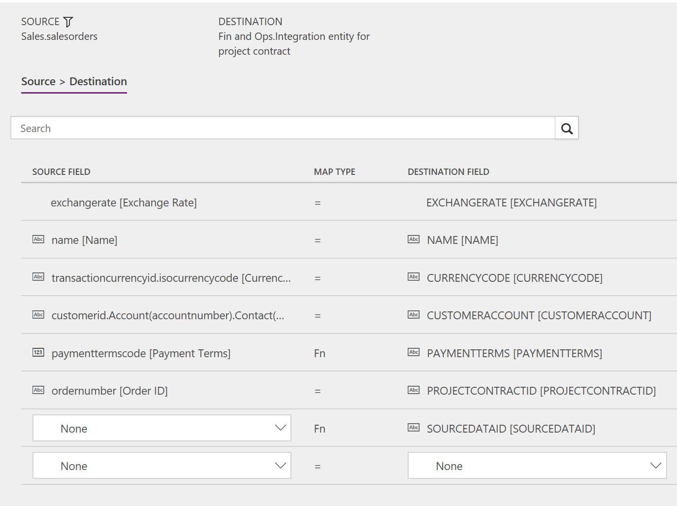 Synkronisere Prosjektkontrakter Og Prosjekter Direkte Fra Project
