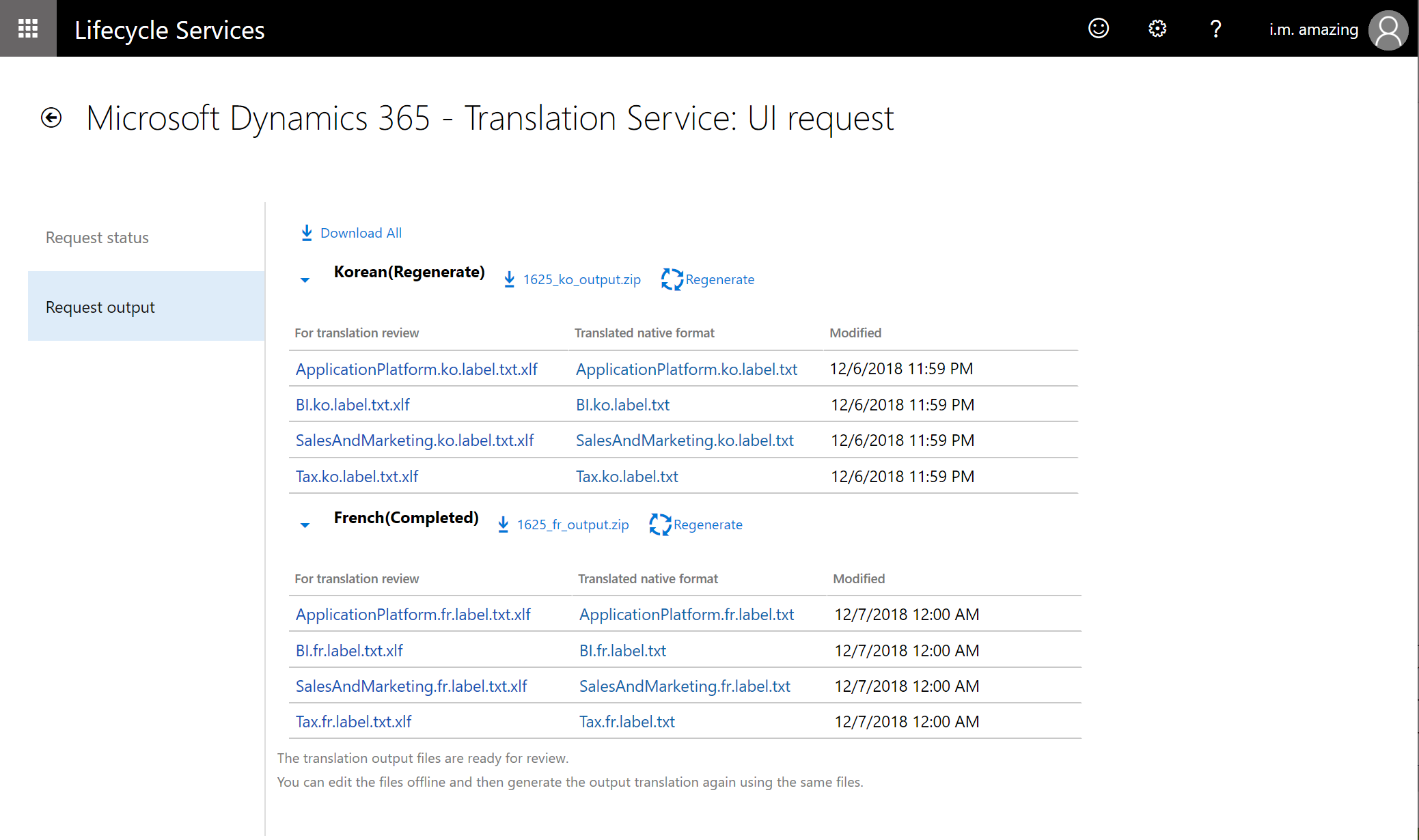 factuur translation Translate user interface files   Finance & Operations | Dynamics