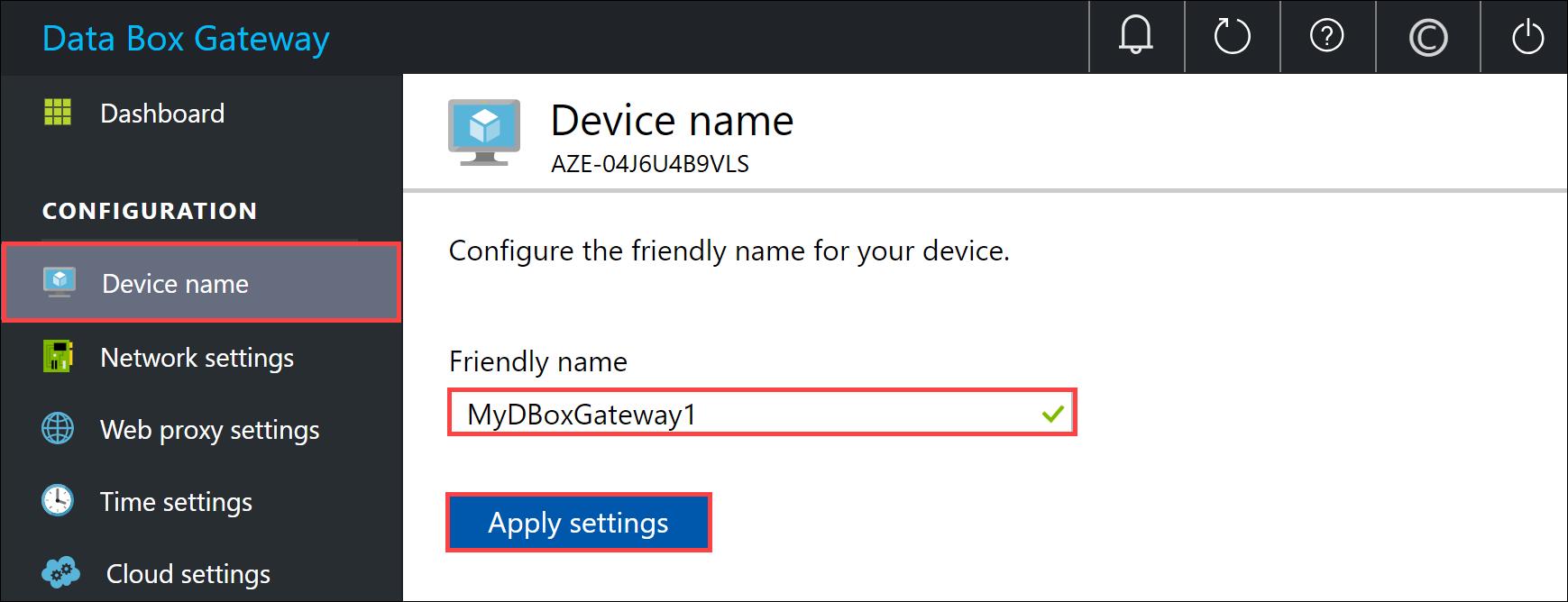 Verbinding Maken Configureren En Azure Data Box Gateway Moet Worden