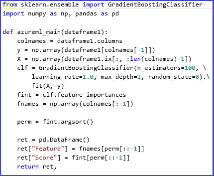 Python Machine Learning Scripts Uitvoeren Microsoft Docs