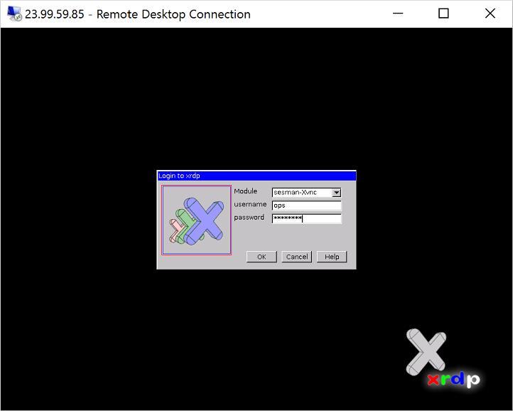 Extern Bureaublad Gebruiken Voor Een Virtuele Linux Machine