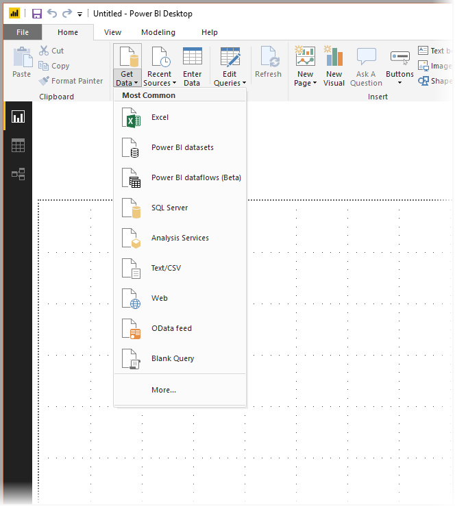 Gegevensbronnen In Power Bi Desktop Power Bi Microsoft Docs