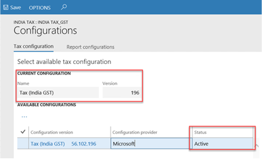 India gst finance operations dynamics 365 msdyn365fo map configurations to the legal entity ccuart Images