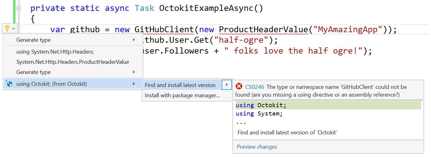 Visual studio 2015 update 3 informacje o wersji microsoft docs nugetbulbg ccuart Gallery