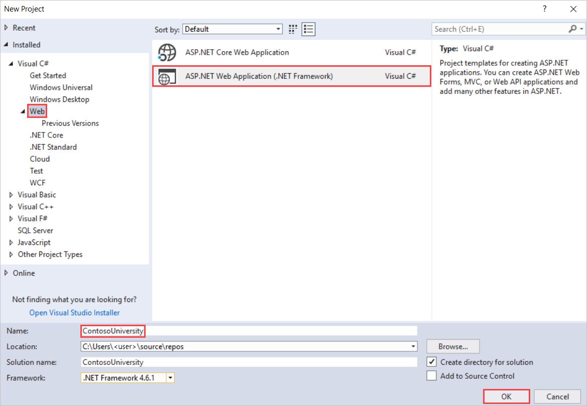 Tutorial: Introdução ao Entity Framework 6 Code First usando