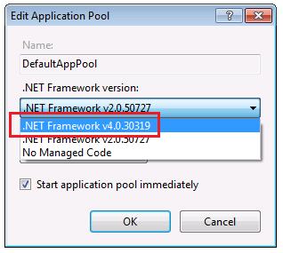 net framework v4.o.30319
