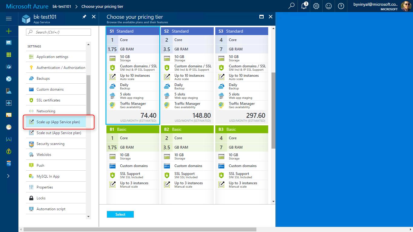 Planos de servi o de aplicativo nos aplicativos web do for App para planos
