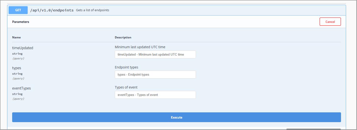 Como usar a documentação do Swagger de referência-Azure