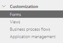 Personalizar formulários no mapa do site