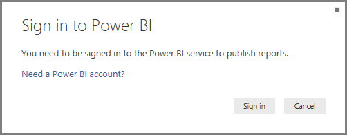 Entrar no Power BI