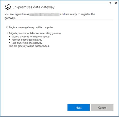 Gateway de dados local power bi microsoft docs on prem data gateway install register recovery fandeluxe Choice Image