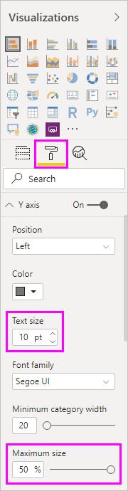 Alterações de formatação