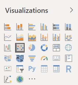 Parte superior do painel Visualização