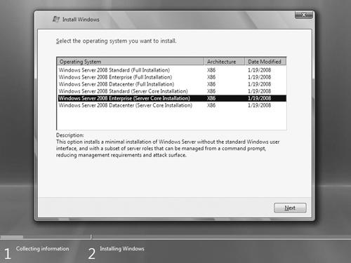 O que é Server Core 2008? | Microsoft Docs
