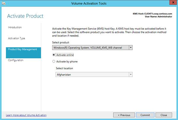 Ativar usando o servio de gerenciamento de chaves windows 10 optando por ativar online ccuart Images