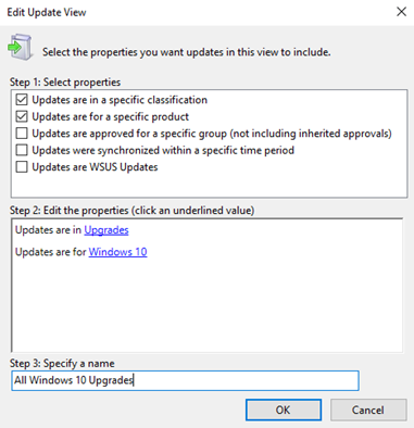 Implantar atualizaes do windows 10 usando o windows server update exemplo de interface do usurio ccuart Image collections