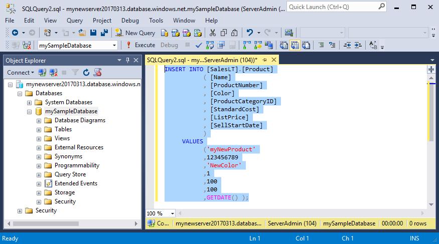 SSMS: ligar e consultar dados na Base de Dados SQL do ...