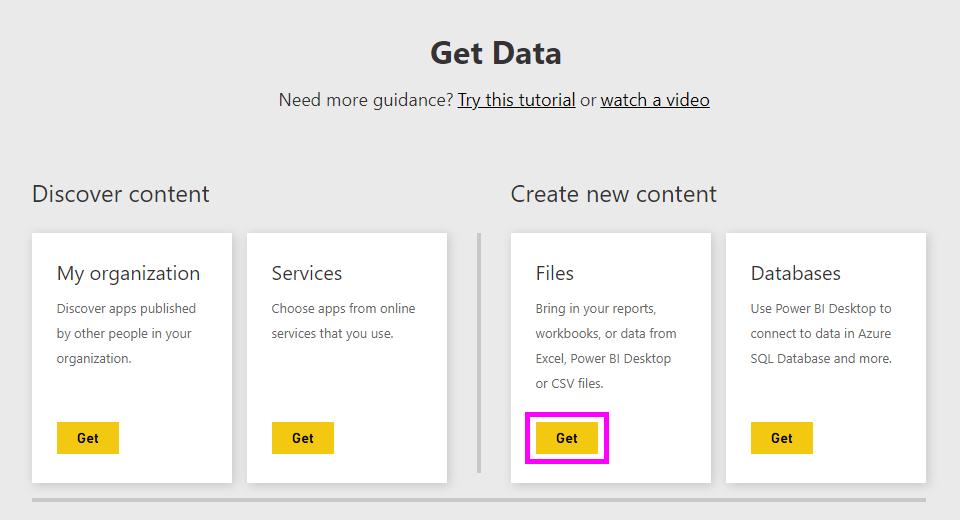 Obter dados de ficheiros
