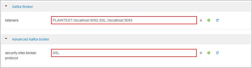 Настройка шифрования SSL и проверки подлинности для Apache Kafka в