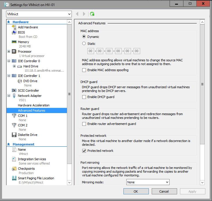 виртуальный сервер операционная система windows