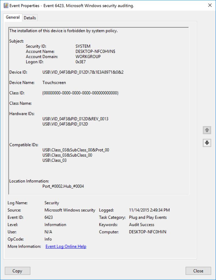 DOWNLOAD DRIVERS: USB VID 138A&PID 0007