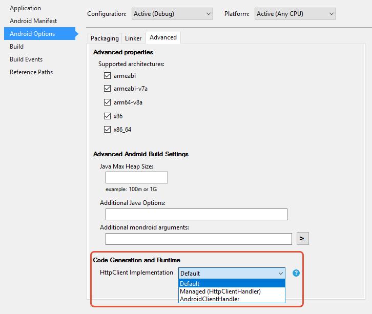 HttpClient Stack и селектор реализации SSL/TLS для Android