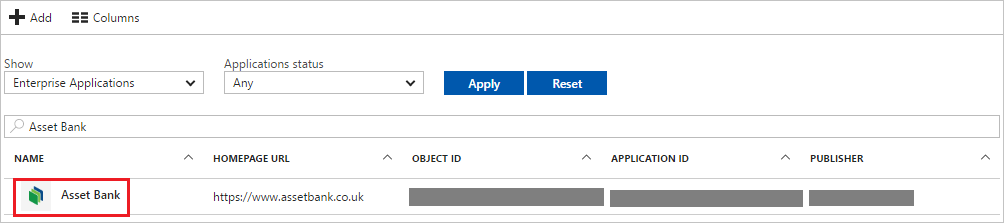 Tutorial: Azure Active Directory integration with Asset Bank