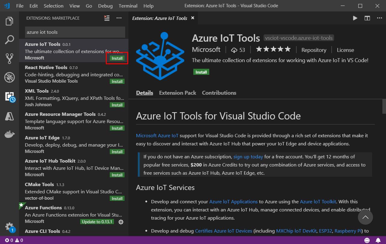 IoT DevKit to cloud -- Connect IoT DevKit AZ3166 to Azure