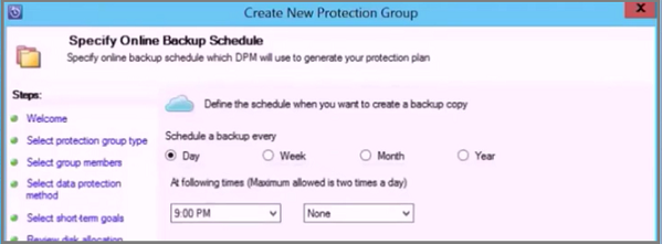 create online schedule