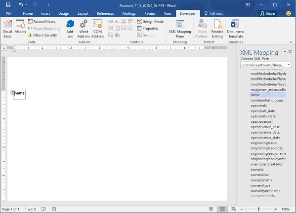 word notebook template