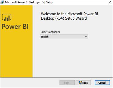 Power BI Desktop uygulaması masaüstünüzde çalışır