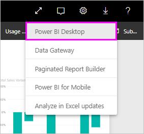 Power BI Desktop'ın en son sürümünü indirme