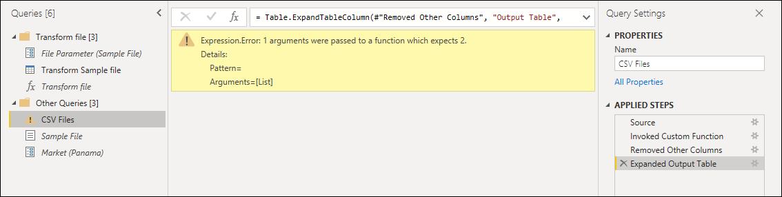 Thesis custom functions error
