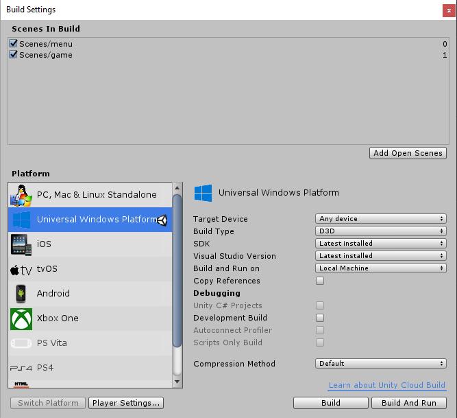 Use XIM (Unity with IL2CPP) - UWP app developer | Microsoft Docs