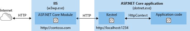 ASP.NET Core 模块