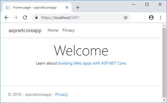 Web 应用主页