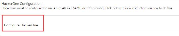 教程:Azure Active Directory 与 Hackerone 集成 | Microsoft Docs