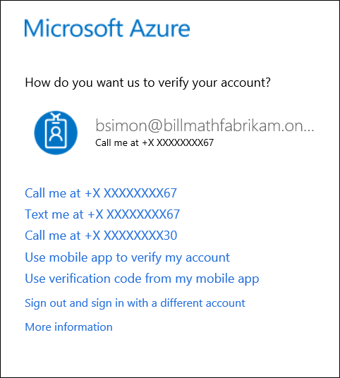 Having trouble with two-step verification | Microsoft Docs